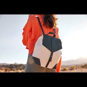 Deux Lux | Demi Canvas Vegan Leather Backpack